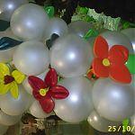 Украшение шарами
